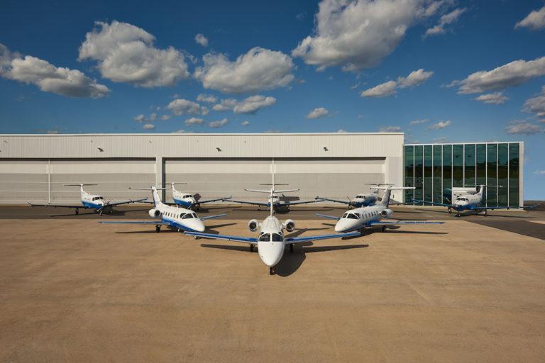 The Pilatus PC-24, part of the PlaneSense fleet of best business jets