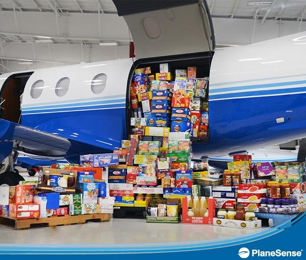 PlaneSense Food Drive