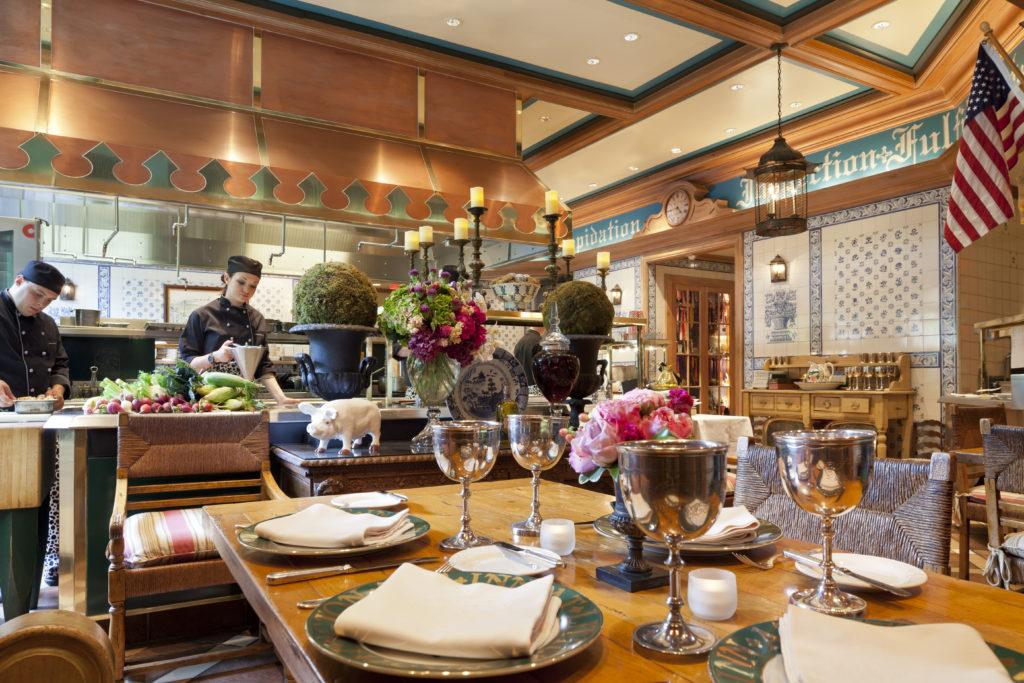 Dining area at The Inn at Little Washington