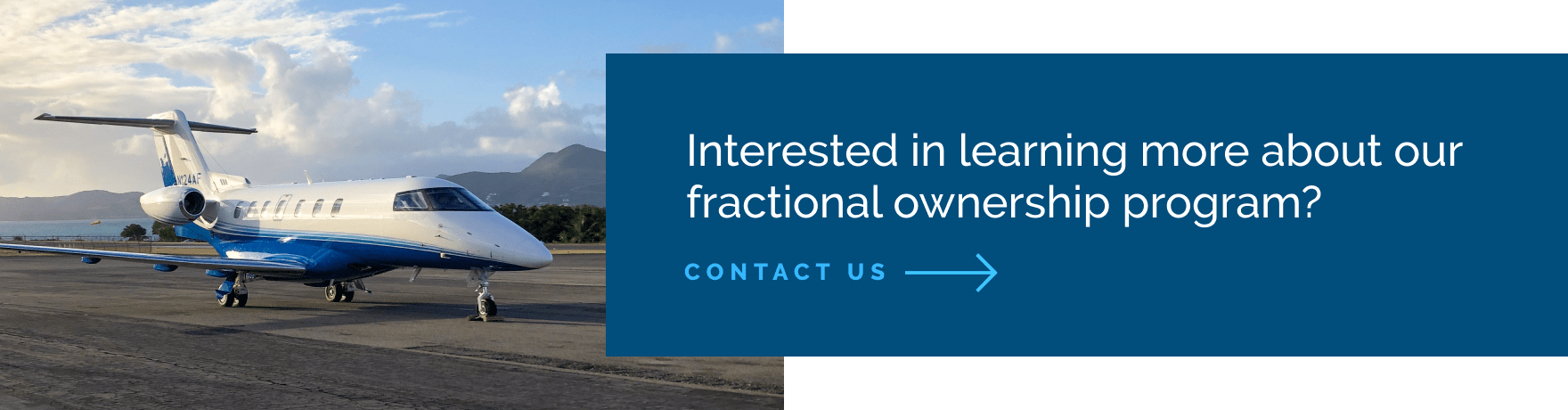 Fractional Jet Ownership Contact Page