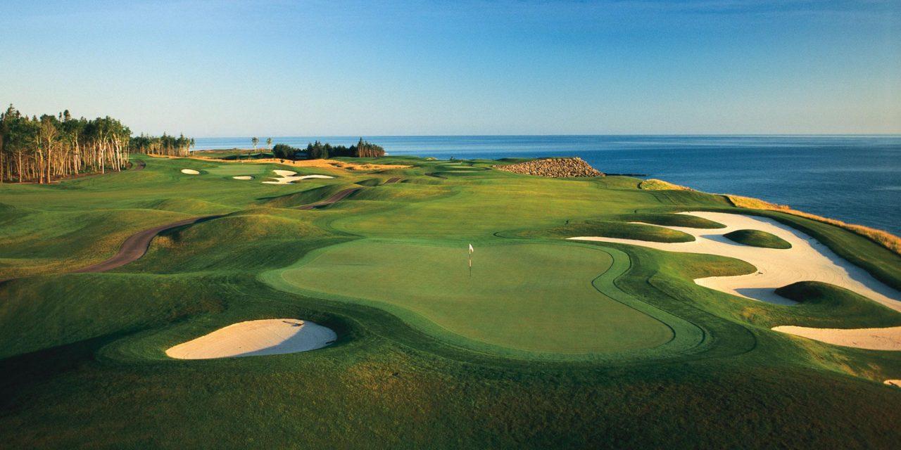 Golf course in Nova Scotia.