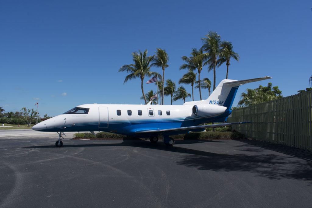 PlaneSense PC-24 jet in Ocean Reef - Key Largo, FL.