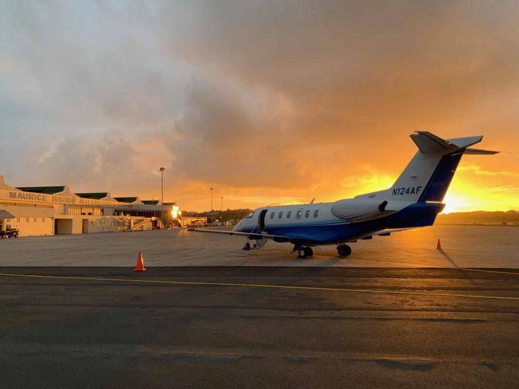PlaneSense PC-24 in Grenada.