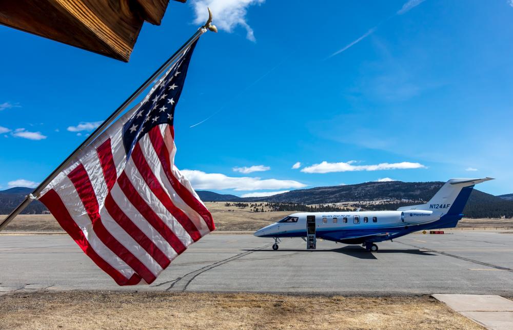 PlaneSense PC-24 in Angel Fire, NM.