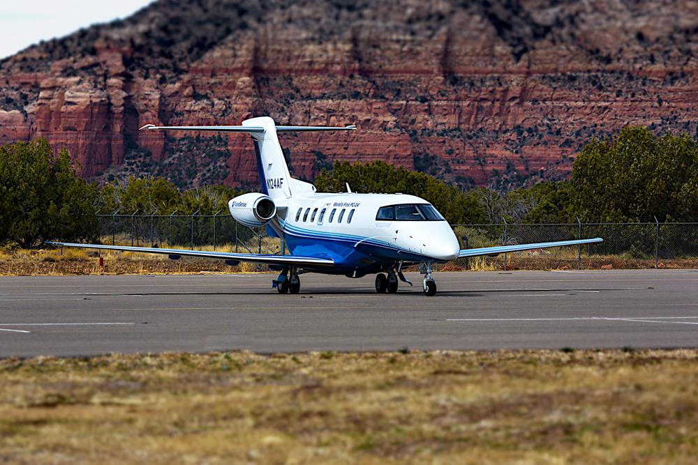PlaneSense PC-24 in Sedona, AZ.