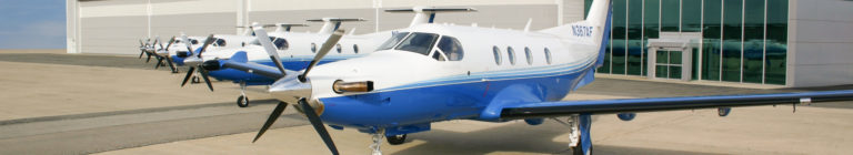 PlaneSense PC-12 fleet.