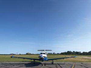 PC-12 at Block Island, RI