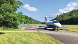 Pilatus PC-24 Jet at Elk River Airport in North Carolina